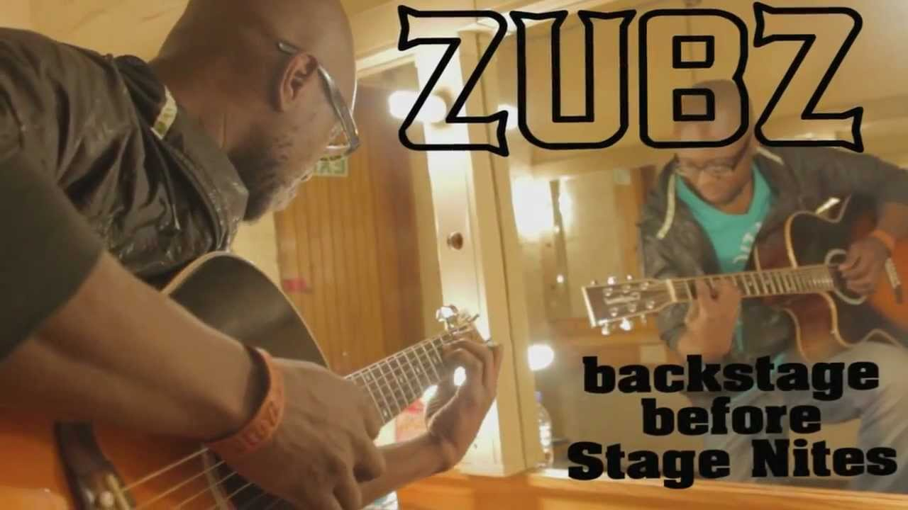 Zubz Acoustic Backstage Warmup